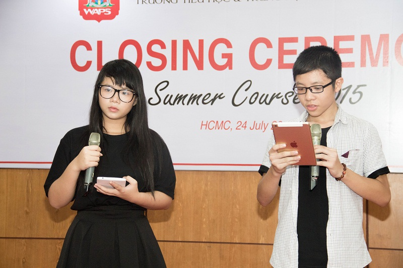 Pupils shared their feeling after attending Summer course 2015